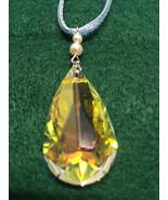 Swarovski Crystal Teardrop Choker Pendant - $35.00