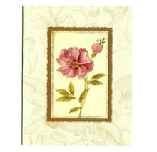 Vintage Blooms Collection 3 Glitter Note Blank Greeting Cards W/Envelops... - $8.99