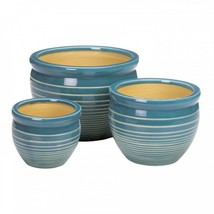 Ocean Breeze Ceramic Planter Set - $72.78