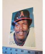 Rod Carew Base Ball Card 5x7 California Angels Player 1981 Topps MLB Bas... - $9.49