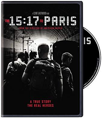 15:17 to Paris DVD