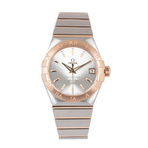 OMEGA Constellation 12320382102001 Co-Axial Mens Silver Gold Two Tone 38... - $8,761.50