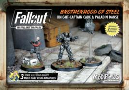 Fallout Wasteland Warfare Cade & Danse Brotherhood of Steel Miniatures M... - $21.99
