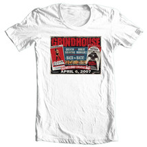Grindhouse Horror T-shirt Death Proof 100% cotton retro 1990's movie tee image 1