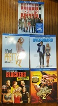 Blu-ray New Release comedy lot Ocean's 8 Overboard Super Troopers I Feel Pretty