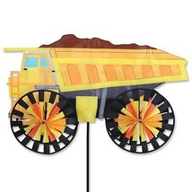 Dump Truck  Vehicle Staked Wind Spinner With Pole & Ground Mount ..69...... - $65.99
