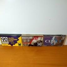 Lot of 3 Blank Audio Cassette Tapes, Premium, Professional, Standard Grade Seal - $17.33