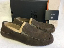 UGG Australia Upshaw Slip-On Loafer MOLE Grey Gray Men's 1015607 Shoes Oxfords - $79.99