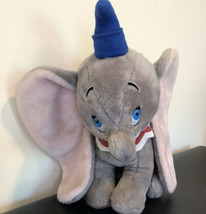 "DUMBO Walt Disney Productions Flying Elephant Vintage Plush Stuffed Animal 18""  - $36.98"