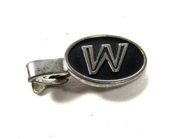 1950's - 60's Initial / Letter W or M Tie Clasp by HICKOK USA 81215 - $24.74