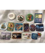 Lot of 16  Walt Disney Pins Birthday Epcot Sports Earth Day - $19.34