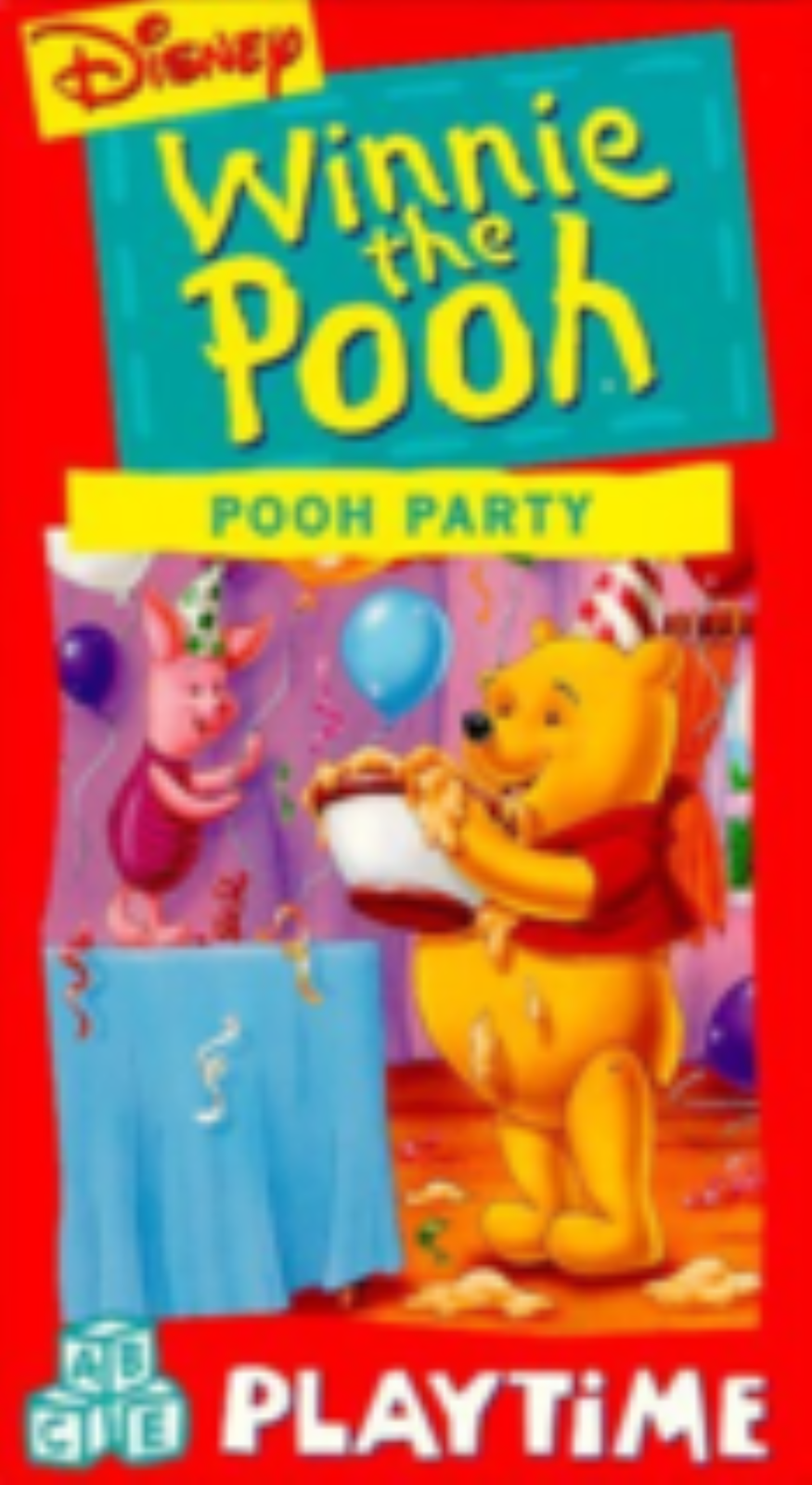 Winnie the Pooh: Pooh Party Vhs