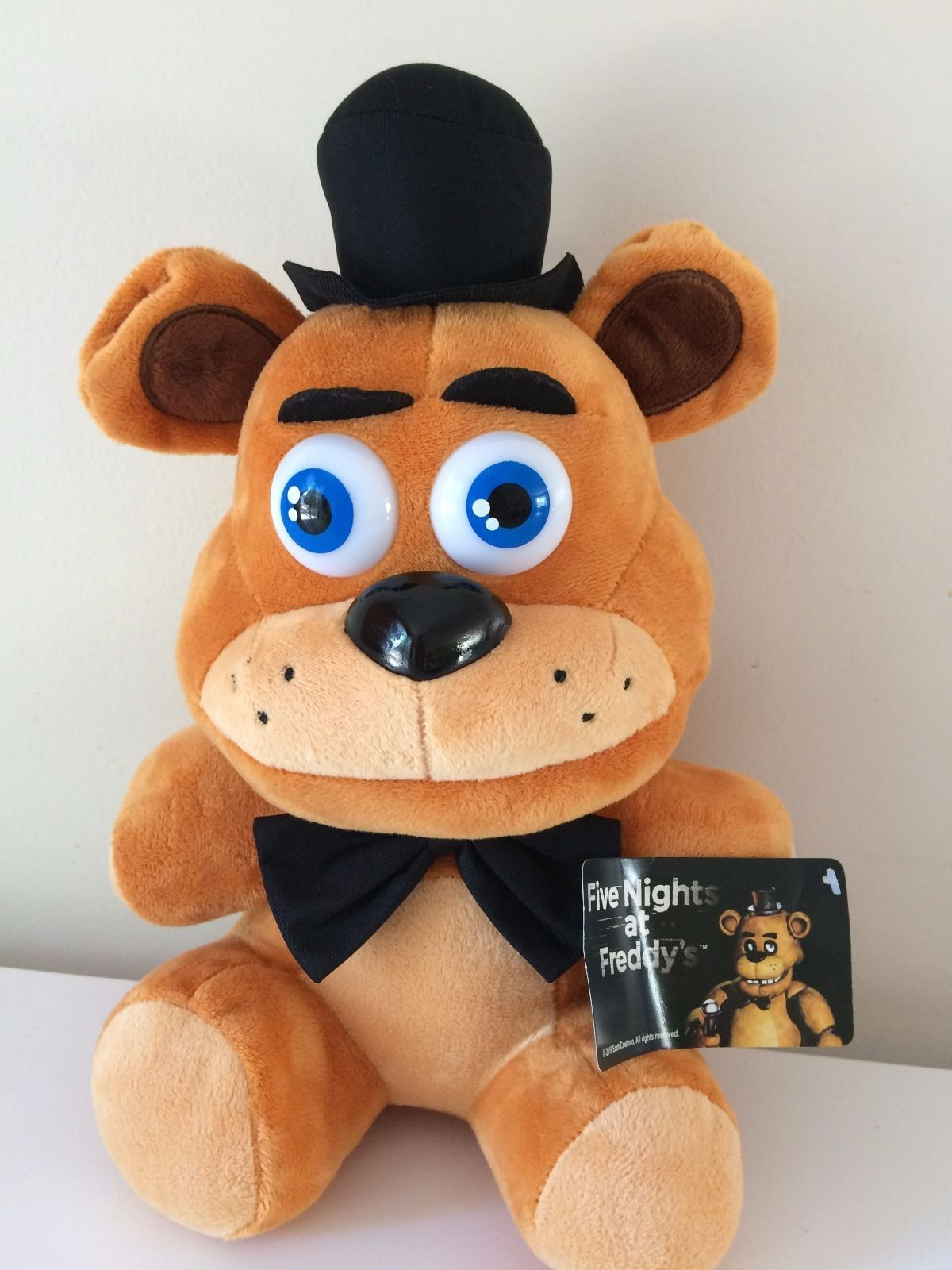 "Primary image for XLarge Five Nights At Freddy's FNAF. Licensed 15"" FREDDY.PLUSH Stuffed animal NW"