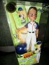 2007 Bratz Boyz Play Sportz Baseball Cade Doll w/Trophy & Trading Card NIP  - $49.49