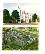 Hoffmann-La Roche Inc.- Nutley, New Jersey (1950's) -2 postcards - $1.50