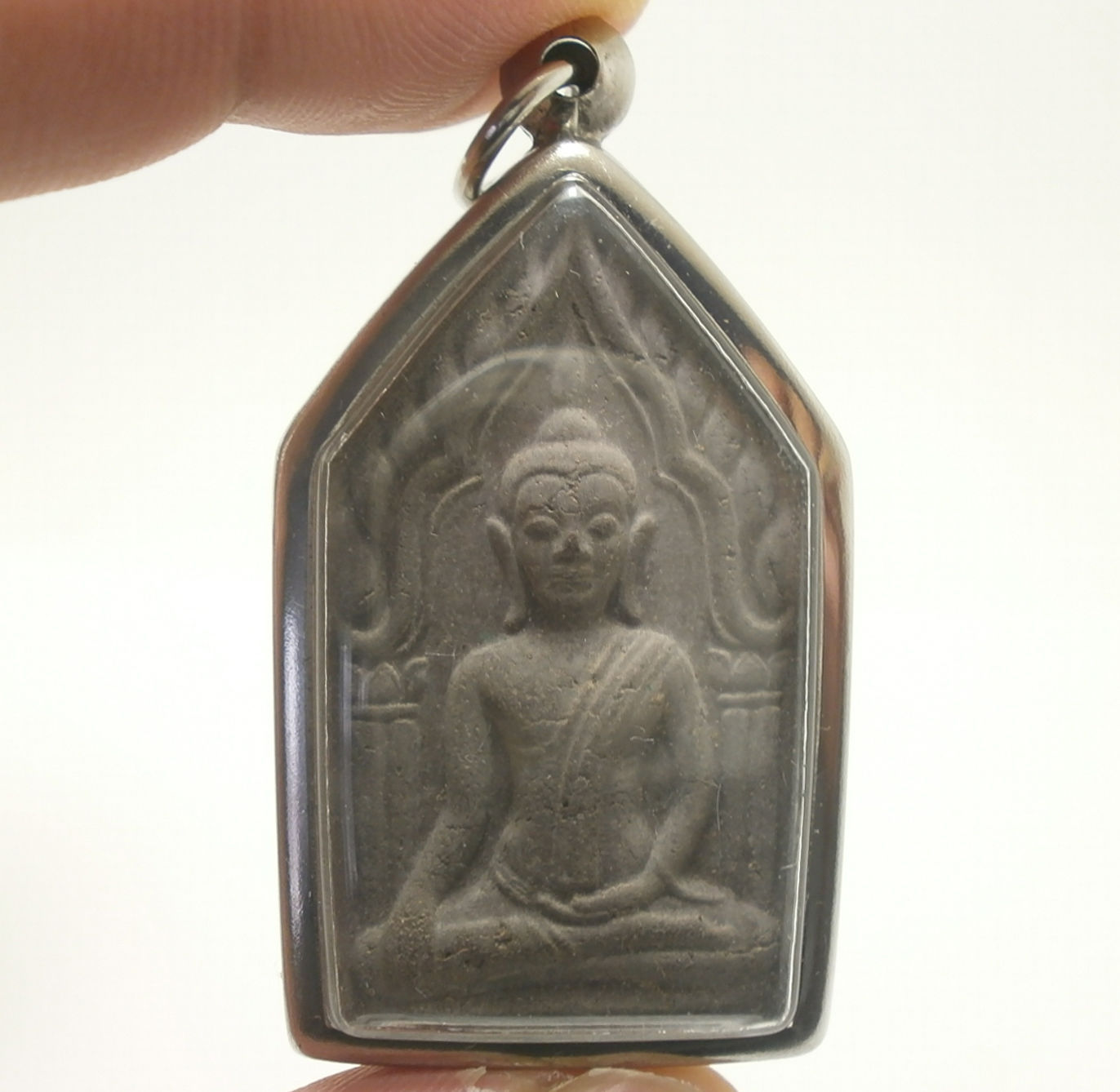 Primary image for KHUNPAEN GUMAN THONG LP POON THAI MIRACLE AMULET PENDANT LUCKY GAMBLE LOTTO RICH