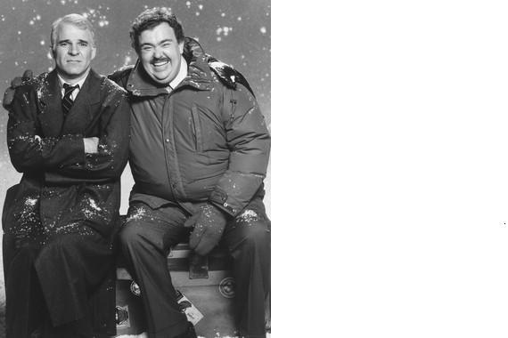 Primary image for Planes Trains Automobiles Steve Martin John Candy Vintage 11X14 BW Movie Photo