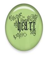 You make my Heart Sing Brad Green Glass-Digital Download-ClipArt-ArtClip - $4.00