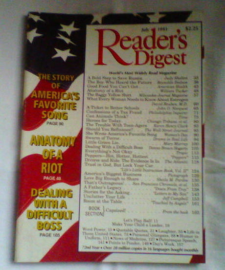 Primary image for Readers Digest Magazine July 1993 - The Story Of America's Favorite Song