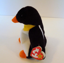 """TY BEANIE BABIES BABY WADDLE the PENGUIN 7"""" STYLE 4075  image 2"""