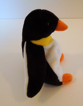 """TY BEANIE BABIES BABY WADDLE the PENGUIN 7"""" STYLE 4075  image 4"""