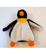 "TY BEANIE BABIES BABY WADDLE the PENGUIN 7"" STYLE 4075"