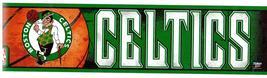 Boston Celtics L:Vintage 3X12 Vinyl Basketball Sticker - $4.50