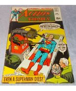Vintage Action Comic Book April 1970 No 386 DC Even a Superman Dies - $7.95