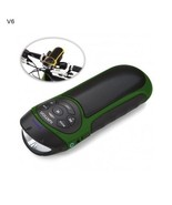 Ivation Bike Bluetooth Speaker Sports Recharge MP3 Micro SD Card Slot Un... - $72.86