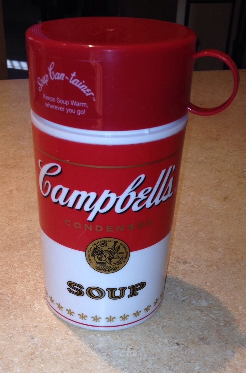 Primary image for Campbell's Soup Insulated Container Thermos - Fast Ship!