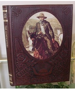 The Old West THE GUNFIGHTERS Illustrated Padded Leather Collector's 1977... - $35.00