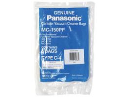GENUINE PANASONIC C-4--5 BAGS IN A PACK VACUUM CLEANER BAGS - $6.50