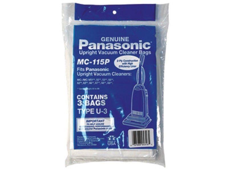 GENUINE PANASONIC U-3---3 BAGS IN A PACK VACUUM CLEANER BAGS