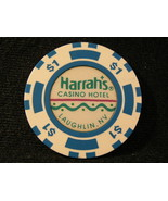 "$1.00 CASINO CHIP FROM: ""HARRAH'S HOTEL & CASINO"" OF LAUGHLIN, NEVADA - $5.99"