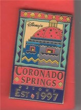 Disney WDW Coronado Springs Resort  Est  - 1997 pin/pins - $24.56