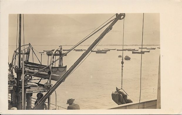 Primary image for c1910 - The Harbor in Salaverry, Peru - Real Photo - Unused