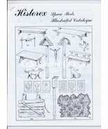 19XX Historex Spare Parts Illustrated Catalogue - $7.75