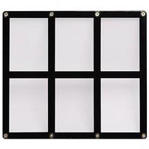 6 TRADING CARD BLACK FRAME SCREWDOWN ULTRA CLEAR HOLDER ULTRA PRO - $9.48