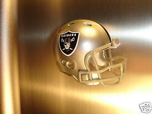 OAKLAND RAIDERS FRIDGE REFRIGERATOR STRONG MAGNET NFL FOOTBALL HELMET
