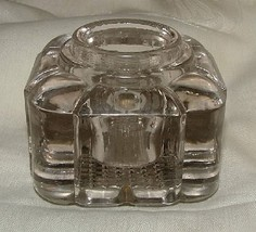 Antique INDIANA GLASS #165 Fluted Column Early 1900s INK BOTTLE L@@K - $29.70