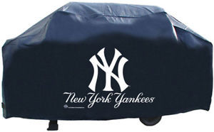 NEW YORK YANKEES ECONOMY BBQ BARBEQUE GRILL COVER MLB BASEBALL