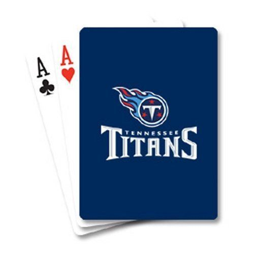 TENNESSEE TITANS 52 PLAYING CARDS DECK POKER  NFL FOOTBALL