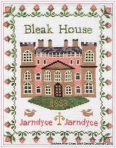 Bleak House Inspiration cross stitch Stitchers Anon Designs - $12.00