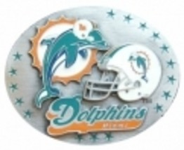 Miami Dolphins Belt Buckle image 1