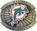 Miami Dolphins Belt Buckle (Oversize)