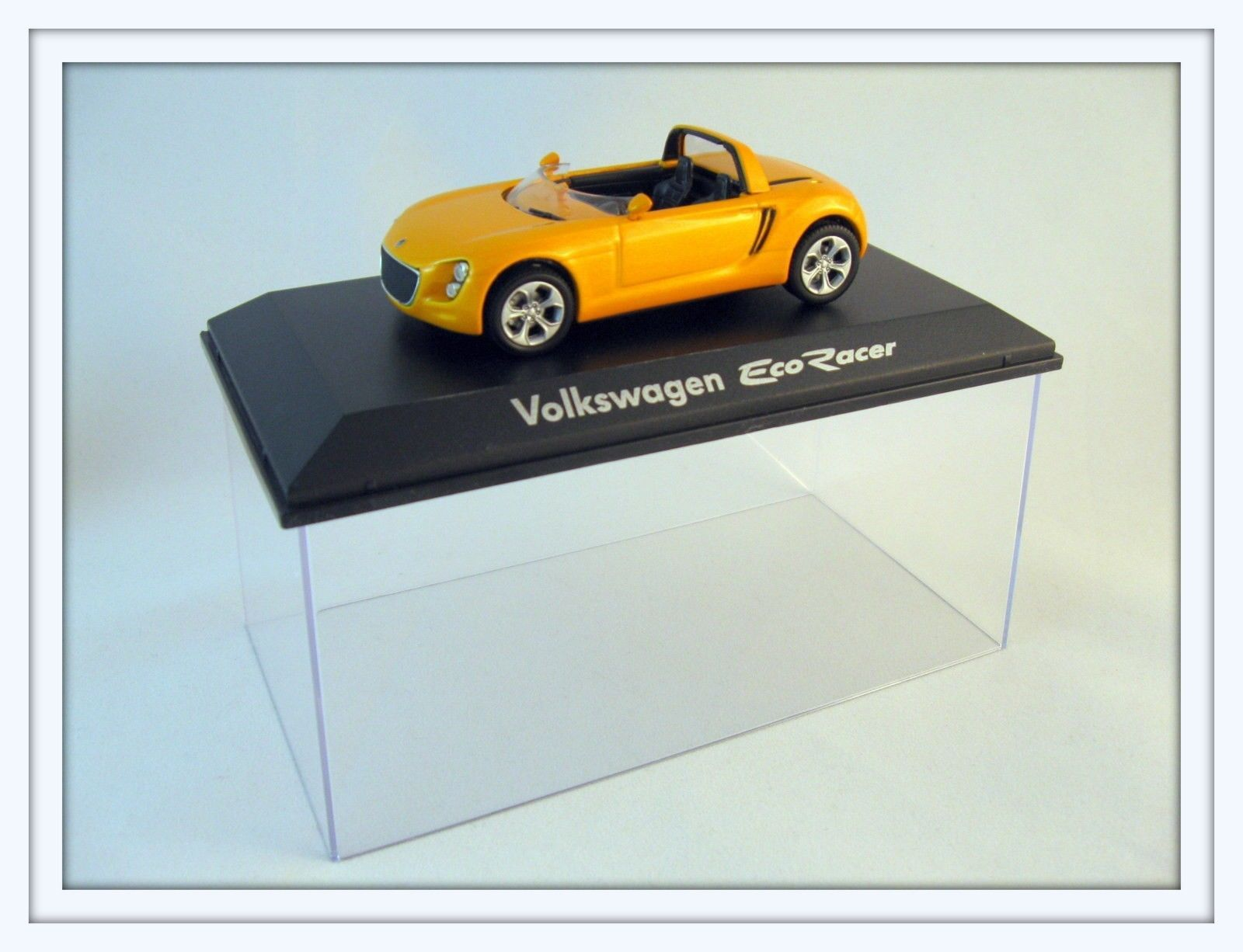 Primary image for VOLKSWAGEN ECO RACER SPIDER,ORANGE EDICOLA1/43 DIECAST CAR COLLECTOR'S MODEL,NEW