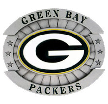 Green Bay Packers Belt Buckle (Oversized) image 2