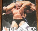 Brock Lesnar Here Comes The Pain VHS World Wrestling Entertainment WWE