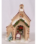 Christmas Valley Collectable 1992 Seasonal Specialties Church Chapel - $6.99