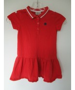 I <3 Next Girl's Size 3-4 Years 100% Cotton Red Short Sleeve Knee-Length... - $20.00